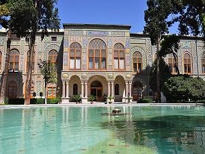 Palais du Golestan-Circuit historique en Iran