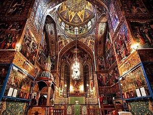 Cathédral de Vank-Circuit historique en Iran