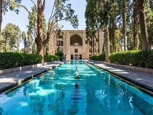Jardin Fin Kashan-Circuit historique en Iran