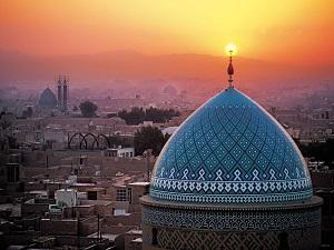 Mosquée Jamée Yazd-Circuit historique en Iran