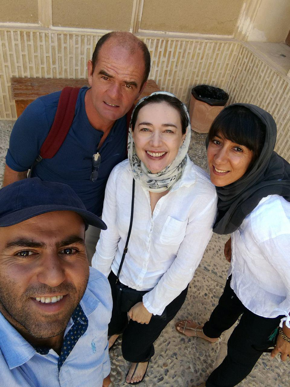 a Yazd de Shiraz avec Gardeshgaran shiraz