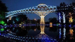 Pont Tabiat, Téhéran