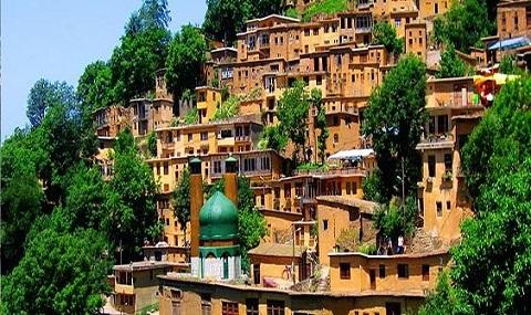 Circuit du village en Iran