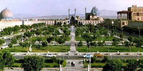 La Place de l'Imam Ispahan Iran