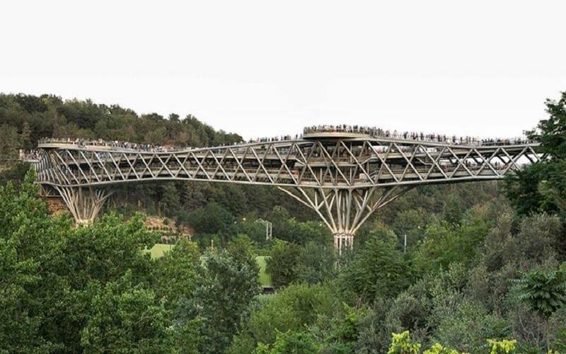 Pont Tabiat Téhéran Iran