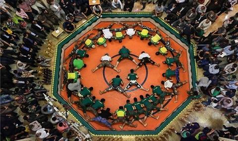 circuit du sport traditionnel en Iran