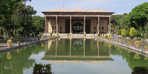 Palais Chehel Sotoun Ispahan Iran