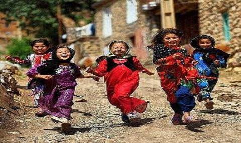 tour du village en Iran