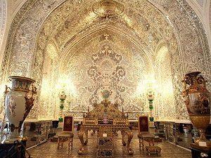 le palais du Golestan, Téhéran