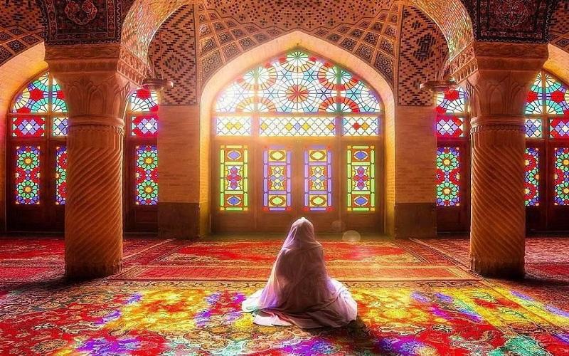 mosquée Nasir-ol-Molk Shiraz Iran