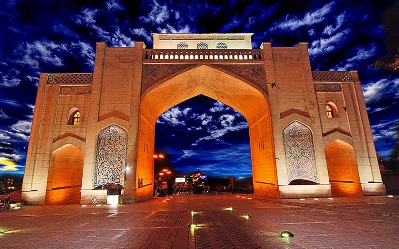 Porte du Coran Shiraz Iran