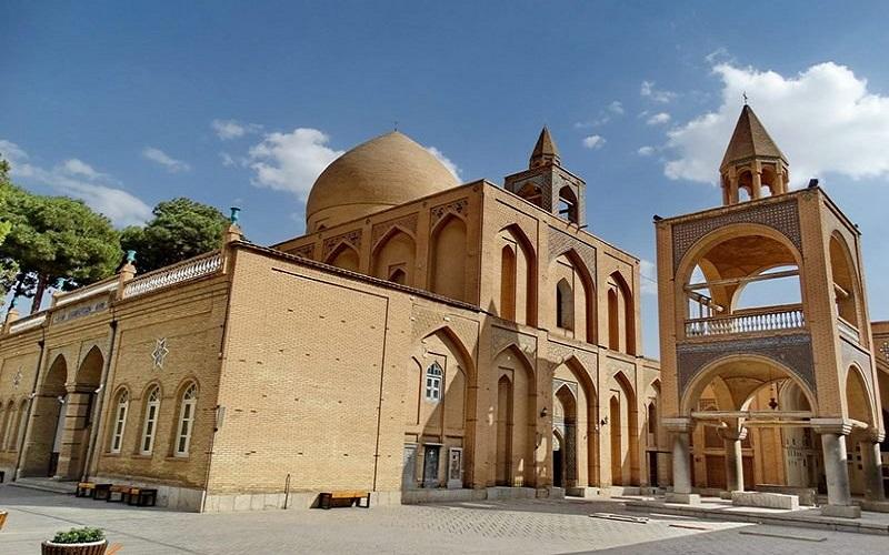 la cathédrale de Vank Ispahan Iran