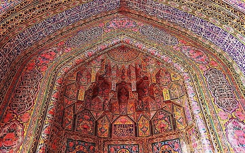 mosquéeNasir-ol-Molk Shiraz Iran