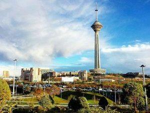 la Tour Milad, Téhéran