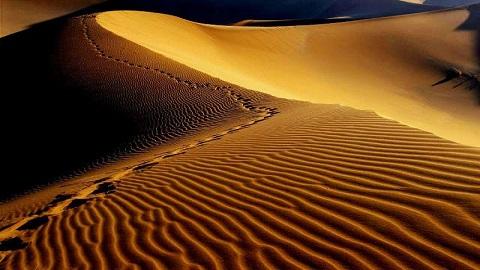 Circuit désert en Iran