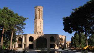 Jardin de Dolat Abad, Yazd