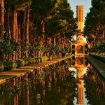 Jardin de Dolat Abad Yazd Iran