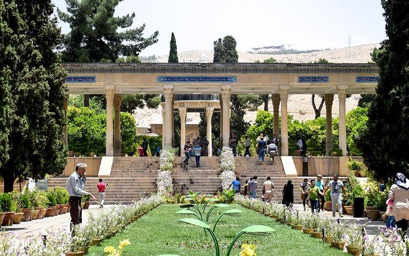 mausolée de Hafez Shiraz Iran