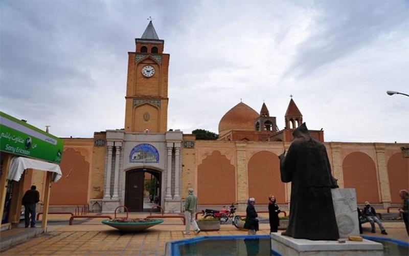 Quartier arménien Ispahan Iran