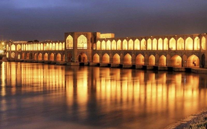 Pont de Khajou Ispahan Iran