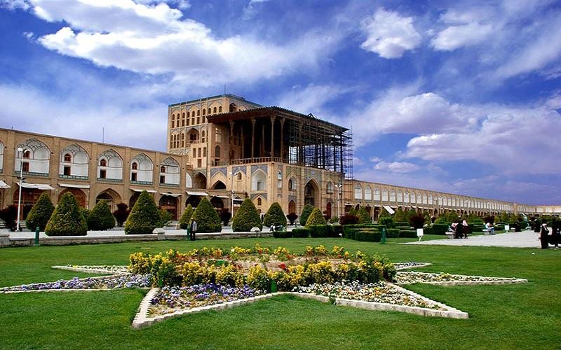 Palais d'Ali Qapu Ispahan Iran