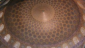 La coupole de la mosquée du Chiekh Lotfallah, Ispahan