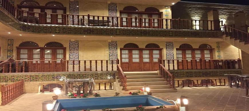 Maison de Forough ol Molk Shiraz Iran