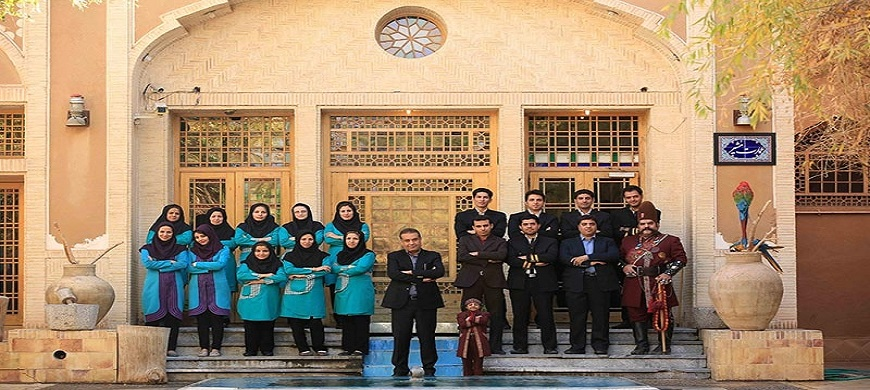 Hôtel Jardin de Moshir-al Mamalek Yazd Iran