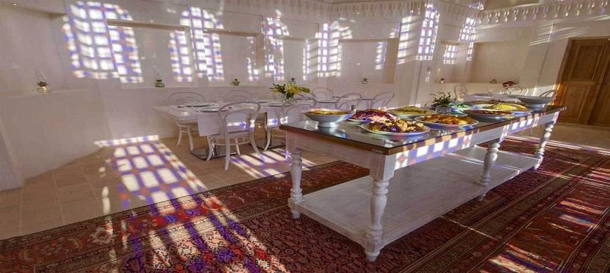 Maison traditionnelle de Manouchehri Kashan Iran