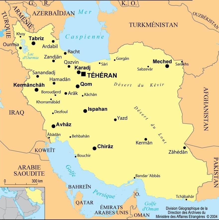 Météo Iran