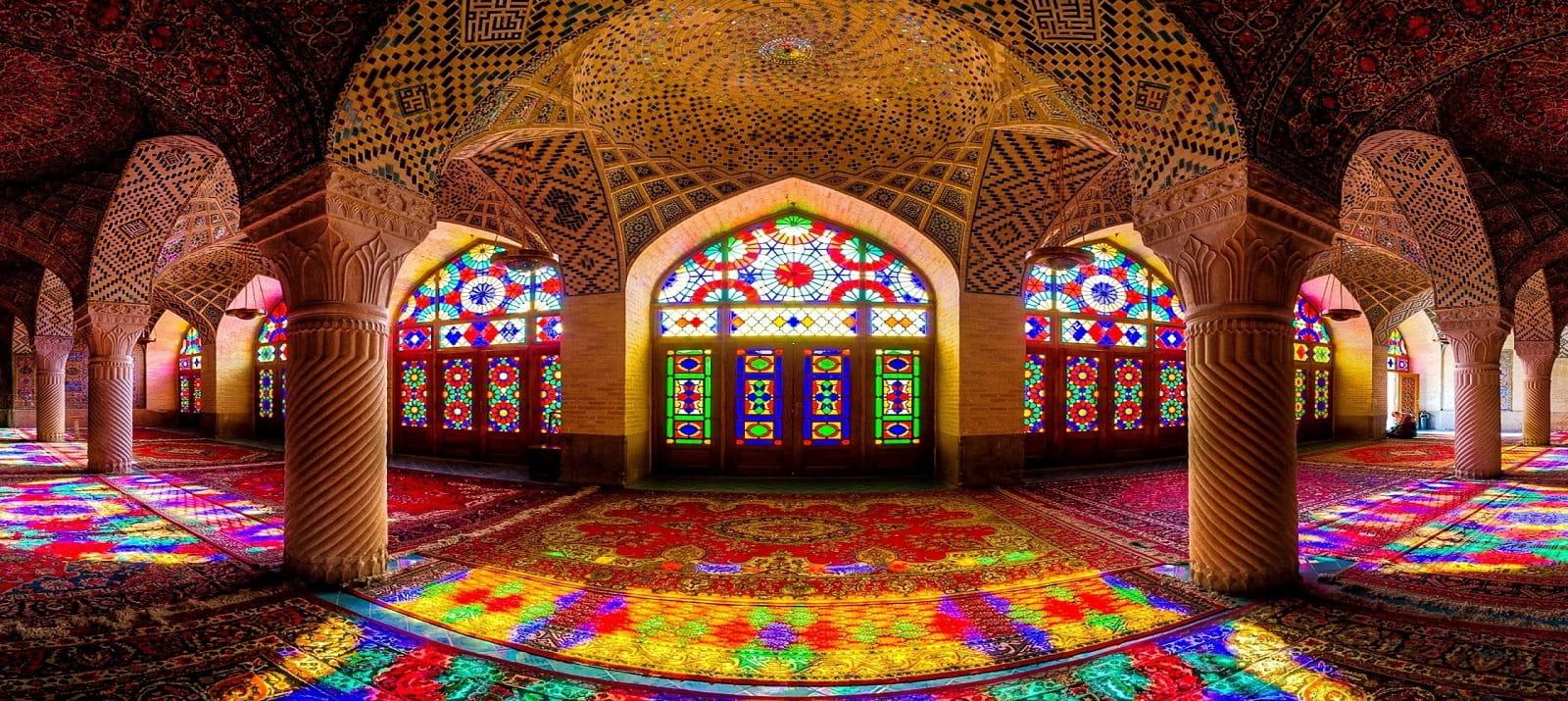 Mosquée Rose Shiraz Iran