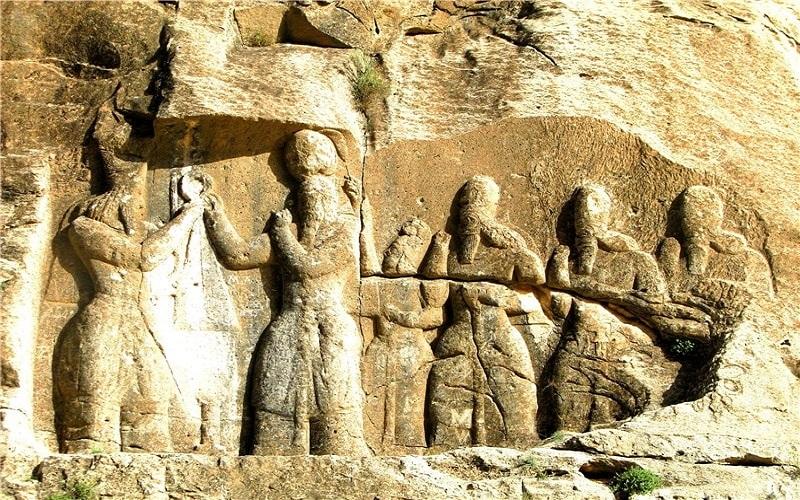 Bas-relief d'Ardashir