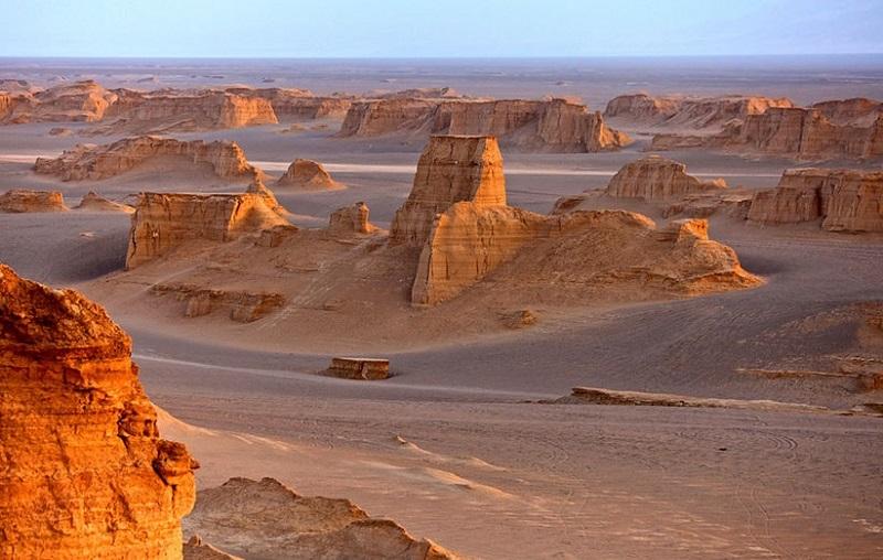 désert shahdad Iran