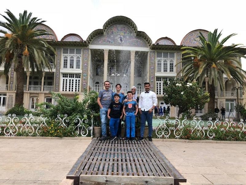 Les Iraniens-voyage famille - Iraniens