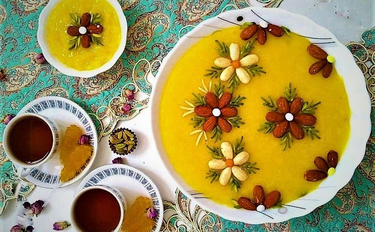 Dessert Iranien