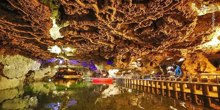 La grotte AliSadr