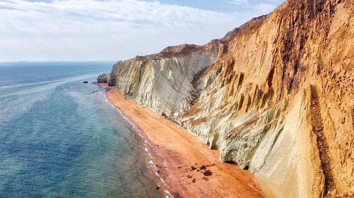 L'île d'Hormuz