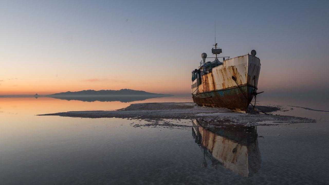 le lac d'Urmia