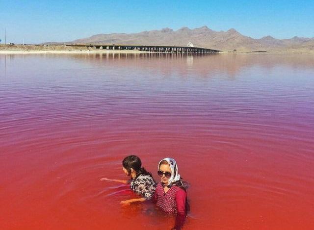 le lac rose iran