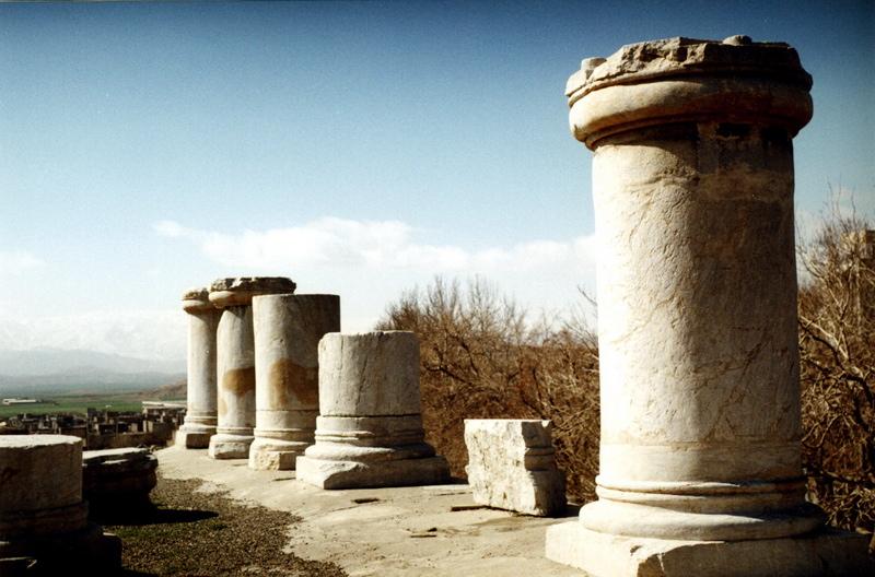 Le temple Anahita