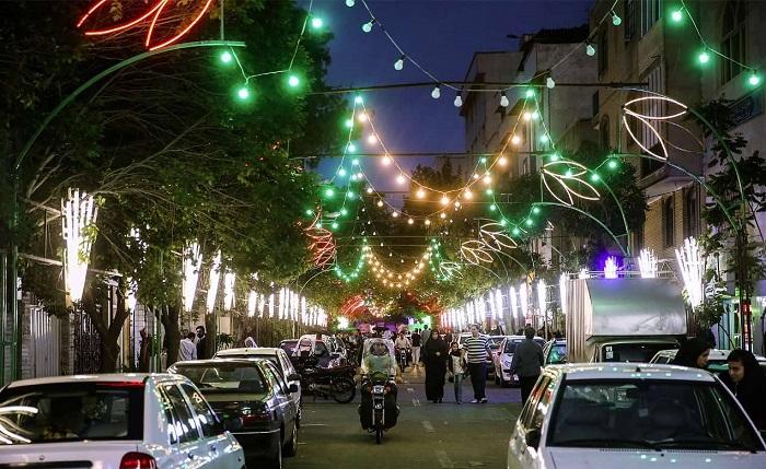 Fêtes religieuses en Iran
