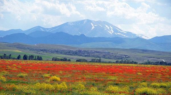 Montagne Sahand