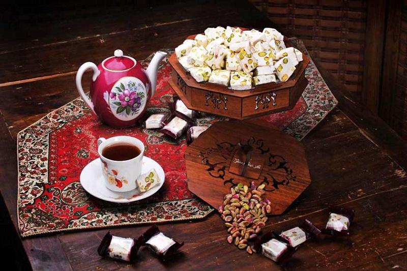 Gâteau Ispahan