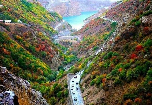 Route Chalous