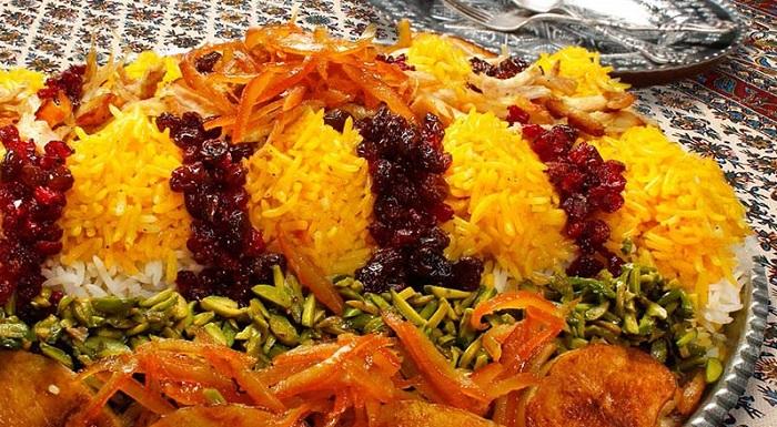 Plats traditionnels Shiraz