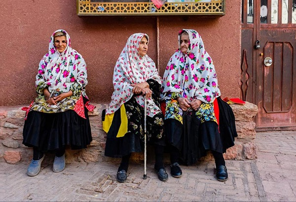 Vêtements traditionnels iraniens