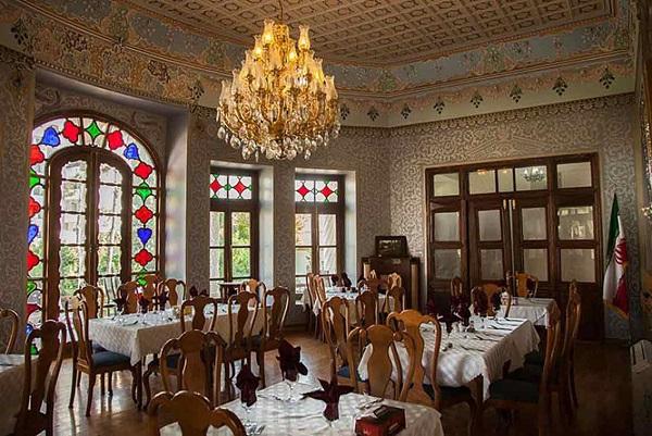 Restaurant du jardin du manoir Shapoori
