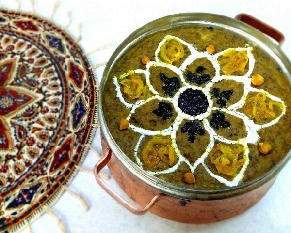 Soupe de Sholeh Qalamkar