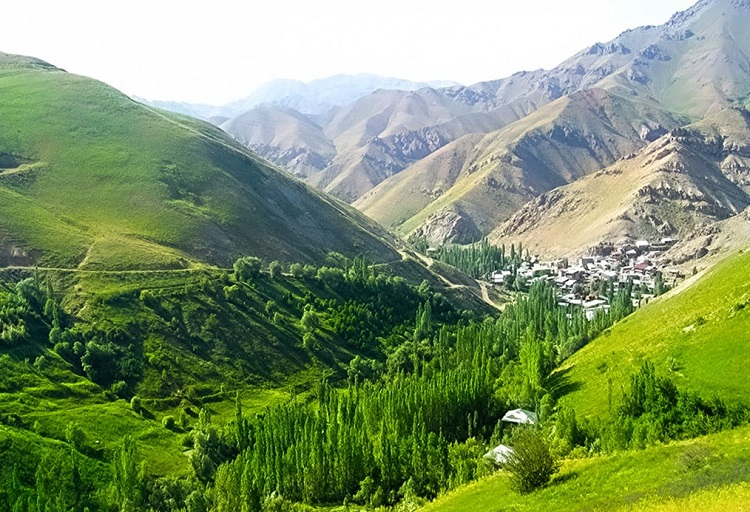 villages autour de Téhéran
